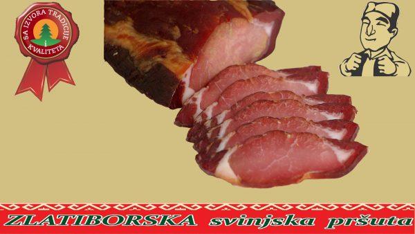Zlatiborska svinjska pršuta