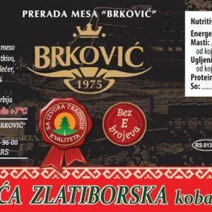 Domaća Zlatiborska kobasica